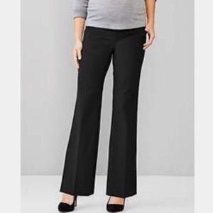 EUC GAPMaternity Black Perfect Trouser sz. 4A
